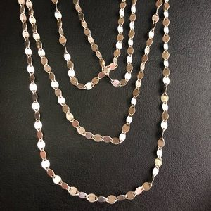 """NWOT .925 32"""" Necklace / Belly Chain"""